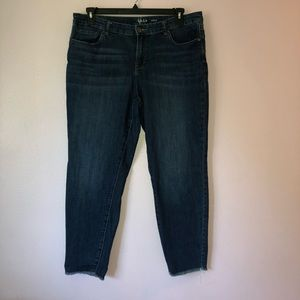 Style & co Ankle jeans
